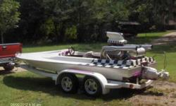 1995 19 feet. place craft tunnel hull jet boat, 572 bbc, 900 horsepower, to much to list, $23,000.00 OBO 225-294-3144 or 985-969-2657 .See item listed at http