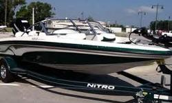 2010 Nitro with a 150 mercury optimax, bought new in 2011. Garage kept also low hours.