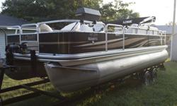 Boat, trailer, all necessary accessories, and boat slip!! What more do you need!! I am selling my 2013 Lowe SF234 pontoon. Need to sell it as ASAP. Bought it brand new in June 2013 and have only taken it on the water a handful of times. Boat is ready for
