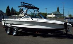 2004 CENTURION ELITE V-DRIVE Beautiful bank repo boat with only 155 hours. Powered by a 350 MAG MPI V8 this Centurion is 22ft. long and is ready for play. Seating for 10 people with all of the storage only found in V-drive boats. Equipped with a nice Pro