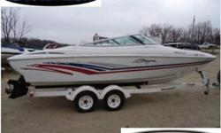 This a rare immaculate Baja Islander equipped with a 454 MPI, bravo 1 drive, captain call exhaust, trim tabs, ss prop, bow and cockpit carpet, bow and cockpit cover, and more. Please call or e-mail for more information. Financing and delivery are