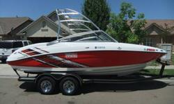 This boat purchased brand new in late 2009 by a retired SC police officer. He purchased the boat for his grandchildren. After using it for the summer of 2010, his daughter got divorced and the boat sat unused in storage for all of 2011. The boat does not