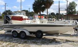 225hp Mercury Optimax, Custom Ranger Trailer, Power Pole, Hydraulic jack plate, trolling motor, fresh and saltwater washdown, VHF, GPS Hummingbird 500 combo, Bimini.