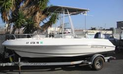 2008 WELLCRAFT 180 CENTER CONSOLE LIKE NEW, MANY UPGRADES! This boat is loaded! FULL ENGINE WARRANTY GOOD TILL 03/ 2014 Powered by 115 hp Yamaha four cycle outboard engine. Factory T-top with rod holders and Deck light. Dual Batteries with switch.