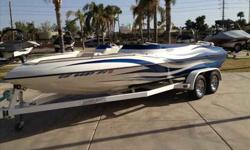 2004 LaserPerformance APEX 23 BR 2004 Laser Performance 23 Apex. Very clean, only 145 hours. MerCruiser 350 MAG MPI 300 HP. Trailer included. Upgraded stereo. For more information please call