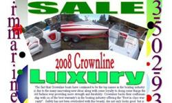 This super nice Crownline gives it's all, check it out on my site and call to arrange a showing. http