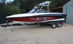 2004 Malibu Wakesetter LSV 23, 2004 Malibu Wakesetter 23 LSV 425 freshwater hours V25 wake hull. 340hp Monsoon engine. Perfect Pass. Dual batteries. Wedge. Malibu Launch System with 4 ballast tanks. Skylon tower with racks and Deafcon IV speakers. 2