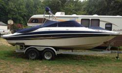 I'm selling a 2005 24' Bowrider with trailer.There a Volvo Penta in board out board engine,270 HP single prop.This boat is in excellent condition with only 200 hours. The boat has never been in the water overnight always taken out on trailer.Accessories