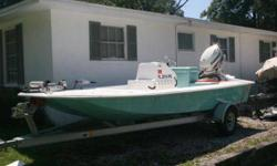 Won boat in the X-treme Redfish Tournament Championship. Very low hours. SeaFoam Green. Extremely shallow water skiff.Capt Chris Holleman 904-704-6178Listing originally posted at http