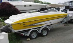 $24,000, THIS IS A NEW BOAT.EXTENDED SWIM PLATFORM AVAILABLE AT $2000 PLUS INSTALLATION.POWERED BY A 5.0 GXI VOLVO/PENTA ENGINE & OUTDRIVE.OPTIONS INCLUDE BOW &COCKPIT COVER, BIMINI TOP, GALVANIZED TRAILER WITH BRAKES.WE WILL SHRINK WRAP& STORE UNTIL