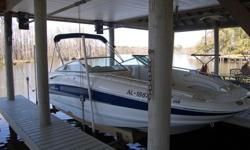 2006 220 Ex Crownline Deck Boat with bath (Theodore,Al.)65 hrs, like new. Call Garry @ 251-591-7527 or 251-591-7861