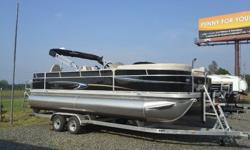 2013 Veranda 2275-F2 Pontoon with Yamaha 115 outboard motor. NO wood in this boat. All aluminum construction with lifetime warranty! Brand new only been in water 3 times. Got a great deal at a Hail Sale and now our priorities have changed so passing the