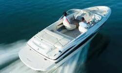 This is a 4.3 Murcurser V8 with only just over 10 hours on the engine.... comes with the trailer, eight life jackets ( 2 nice, 6 standard ), wakeboard and rope, tie down ropes and a cover.. Asking under current value of the boat but am willing to take a