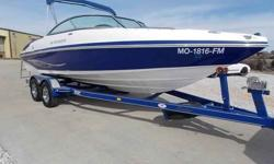 2007 RINKER 226 CAPTIVA BR For Sale by Midway Power Sports - Spokane, Missouri Exterior Color