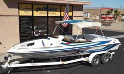 """http://www.gotwaterrentals.com/Consignment_2000_Essex_Genesis_Open_Bow_Jet_21.html With the Marine Power 502 PFI engine you'll get where you want to go - F A S T!! Almost """"flawless"""" best describes this 2000 Essex Jet Boat. This open bow jet boat has been"""