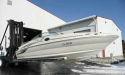2002 Sea Ray 240 SUNDECK PERFECT BOAT ... IN GREAT SHAPE...NO BOTTOM PAINT .. RACK STORED..MERCRUISER 5.7L EFI BR3 (260 HP), COMPASS, FIRE SUPRESSION SYSTEM, DUAL BATTERY SWITCH, COMPLETE CANVAS AND BIMINI TOP, PUMP OUT HEAD, GARMIN GPS, VHF RADIO,