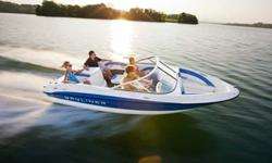 """Brand New 18'6"""" runabout boat by Bayliner. Powered with the Mercruiser 4.3L 190hp, Alpha 1 engine. Explore the lake and enjoy water sports with friends and family in this affordable new boat. Top speed of 51mph. Lifetime warranty on the boat, 2 years"""