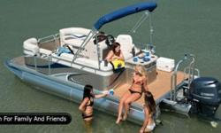 """2013 Qwest LS 7518 Splash Pad by Apex Marine """"Only"""" $24,995.00 THE WORLD LEADER FOR COMPACT PONTOON BOATS *****Exceptional Quality****** We believe that quality is value. Meticulous fits and finish, the best welds, exceptional customer service -- in our"""