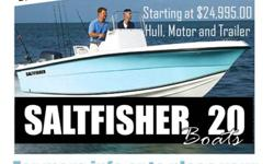 2013 SALTFISHER 20FT BOAT WITH MOTOR AND TRAILER STARTING AT $24,995.00. GREAT OFFSHORE AND INSHOREW FISHING BOAT. CUSTOM BUILT TO FIT YOUR NEEDS. YOU CAN CHOOSE COLOR, T-TOP, ELECTRONICS AND MORE FEATURES TO MAKE IT YOURS. CALL 305 303 4598