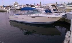 1974 Sea Ray Sundancer 24024? Cuddy Cabin-New Swim Platform-Carb rebuilt 2013-Downriggers included-Tandem Axle Trailer included-Bimini with full cover includedThis boat has been an amazing boat for fishing, diving, or cruising the river! Sad to see it go,