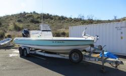 24' Triton 240 LTS 2006 Boat For Sale in San Diego, CA.Powered by Mercury 225hp Optimax direct injected 2stroke outboard. Highlights include Lowrance HDS 7 GPS/Fishfinder, Icom 304 VHF radio, MotorGuide Great White salt water trolling motor, and custom