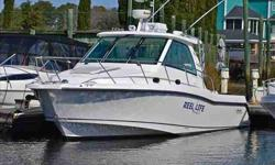 2008 Boston Whaler 345 CONQUEST Experience Boston Whaler's biggest Walkaround loaded with options, low hours and EXTRA clean. This boat has cockpit ac/heat, twin GPS/Chartplotter, on with integrated radar and a life raft. Many more options. The boat is