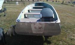 Very nice row boat no leaks this boat takes a short shaft motor and is rated up to a 24 horsepower . BOAT only $300.00 firm cash onlyTrailer will be SOLD sepertly for $175.00 only after boat has been sold 612-306-6403Listing originally posted at http