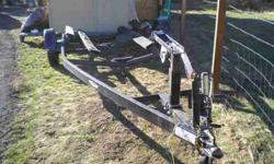 sixteen feet. Trail-Rite boat trailer.No boat maybe you have a boat and need a trailer.If so call or text (541-280-7689Listing originally posted at http
