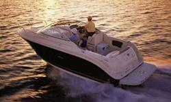 """250 (26'3"""") Sea Ray Amberjack 2007 in great condition, seldom used, Blue Hull, electronics, canvas, GPS, One owner, call Peter V. Storage 16/17 and launch include at Wharf Marina. Make offer!!!"""