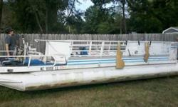 I have a fixer upper pontoon boat it is a 20ft 1972 SanPan Rivera pontoon that needs some TLC. I have priced this boat to be scraped and it is around 400 dollars. I don't have the time nor patience to do so. This boat has an outboard for seats, it has a