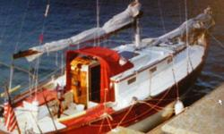 Cy Hamlin designed this blue water cruiser for the Caribbean with an in keel centerboard. She is a comfortable off shore cruiser with a recessed fore deck, double life lines SS bow pulpit, and 7 sails for any weather. The main was used only 3 seasons, the