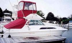 1985 Sea Ray Sport Fisherman (Only 360 Hours!)( Or best fair offer) *** FOR ALL QUESTIONS CONTACT