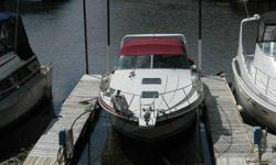 "1986 Wellcraft Gran Sport 3400 Dual 7.4L (300 Horsepower) Mercruiser (1200 Hours) 6.5KW Westerbeke Generator Central Heat/AC TV/Stereo with power amps Wide beam 12' 6"" 2 Refrigerators Ice maker Range Electric/CNG Microwave Built In Vacuum Bow to Beach"