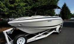 1999 Cobalt 25 LS, Volvo 7.4 GI/DP 310 h.p. One owner. 139 original hours. Always kept under cover. Bimini top, Ability to fully enclose, Table with mount, Dual batteries with switch, Sony sound system. Transom shower, Docking lights, Tonneau snap on