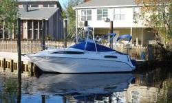 2003 Bayliner 245 Ciera $25,000 Bayliner 245 Ciera Sunbridge Coastal Cruiser 200 Hours 14 Mile Radar/ Chartplotter Factory A.C. 350 Mercruiser MPI Gas Marine Head 3500 Gas Generator Complete Galley Stereo System Solar Battery Charger Sleeps 4, 2 Forward,