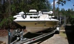 $25,000 - 2006 Shearwater Bay/Flats boat 2000 (20') excellent for lake & saltwater fishing, very low hours yamaha VMAX 150 motor, this boat is top of the line light weight (1600 lbs) composite double hull w/lifetime warranty, fast (to 55 miles per hour)