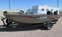 2007 Lowe FS175, If you are wanting to get into fishing or boating & skiing this fish & ski boat will even please the wife or if you are just wanting to upgrade. You won't have to buy any extras.115hp Merc. approx.96hrs.- 9.9hp Merc. kicker.-Minn Kota