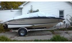 2007 Regal 1900 Bowrider This like new boat has low hours and is in great shape. Includes snap in carpet, stainless steel cup holders, extended swim platform w/ladder & CD player! All service was completed at Marine Center in Indianapolis, which is where