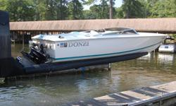 FOR SALE - Donzi Classic 22. 1995, clean, two owners, excellent condition. Mercrusier inboard 502 Bravo with 375 hours. Speed ball transom, hydraulic power assist steering, 419 hp, 65+mph. 5 person capacity. Price firm with trailer. Photos available upon