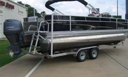 2013 Briefly preowned pontoon. Less than 2 hours. All factory warranties in effect. Call Lee 713-301-5031