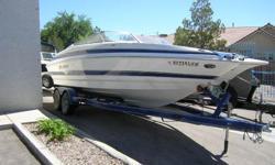 2005 Larson LXi 248 Open bow boat, Mercruser 496 cid, tandam axle trailer,