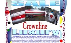 2008 Crownline 19'CROWNLINE TOP OF THE LINE COMPARES BY SOME AS A CADILLAC IN THE CAR WORLD!The fact that Crownline boats have continued to be the top names in the boating industry is due to the many innovating new ideas along with some loyalty to doing