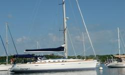 Bénéteau First 47.7 bought new in 2005. Kept by owner only in New England and Carribeans. 3 cabins with Queen beds, 2 heads, L shape galley. The interior is pear tree wood, floors are stratified teak, she is upholstered in blue leather. Teak deck and hull