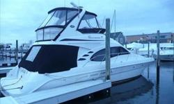 "2004 Sea Ray 42 SEDAN BRIDGE MAJOR PRICE REDUCTION!!!OWNER HAS SLASHED PRICE BY OVER $50,000.00. DON'T MISS OUT Bow Thruster-Autopilot (Raypilot ST-7001+) Navigator 10.4"" Touch Screen Plotter Radar, RL80C Plus"