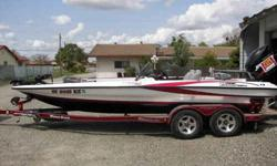 """2004 TR21X Triton, """"UNDER 200 HOURS"""", Boat is showroom condition 225 Merc OP MAX, 36 volt trolling system, Garage Kept, New batteries, Tandem trailer, Hot Foot, E-Mail for more pics."""