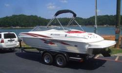 2009 Larson 206 SENZA LOW HOUR 2009 LARSON BOW RIDER This is a very well maintained 2009 Larson 206 Senza. This boat is equipped with a 5.0 MPI Mercruiser engine. Lots of nice features include / snap in carpet / carry on cooler / stainless steel cup