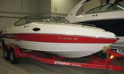 2010 Stingray 205 CX This newly traded in performance Cuddy Cabin is ready to handle anything you can throw at it. With a 5.0L 260 HP Mercruiser speeding her across the water there isn't a water activity you won't be able to enjoy. Want to get out of the