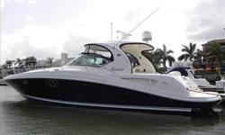 2006 Sea Ray 44 SUNDANCER Brand new to the market. This 44 Sea Ray was originally built for her owner and very well equipped from her up graded 500 QSC Cummings Diesels to the Polk Audio upgrade for the sound.She has only 380 hours and is ready to start