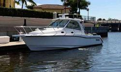 2008 Boston Whaler 345 CONQUEST New brokerage listing..If you are looking for an exceptionally clean 345, this is your boat. Never fished and only 132 hours. Bottom paint just completed, new batteries, new canvas Extended warranty on engines and boat