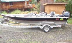 Its almost fishin time for Kings!!!! Get ahead of the game with a new boat without paying the shipping from Oregon~20x72 2007 FishRite Kenai Lite. T50 with newest tillerhandle with trim and RPM adjust. T50 has 82 hours and kicker has maybe 15. T50 is on a